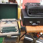 Vintage Typewriters for Sale - Retromat Vintage Booth at the Vintage Bazaar.