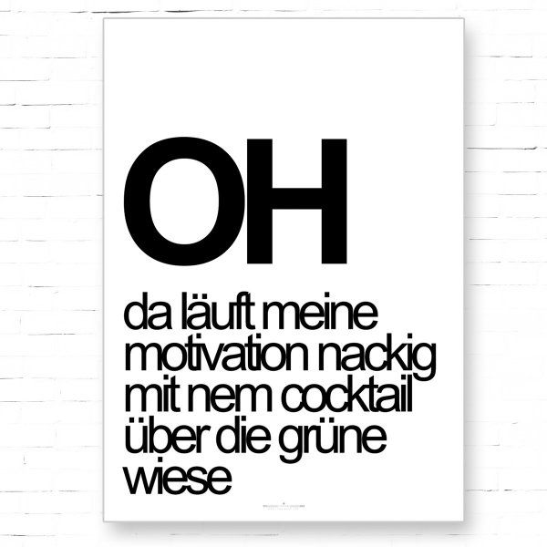 uh. grässlicher Satz, lustiger Satz.                              …