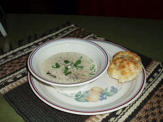 Mushroom and Oyster Soup for Lazy Gourmets