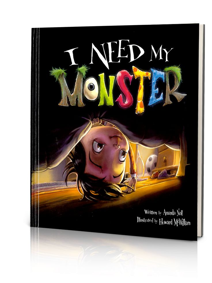I Need My Monster, written by Amanda Noll, Illustrated by Howard McWilliam, read…