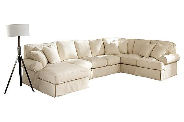 The Kinning Linen Sectional from Ashley Furniture