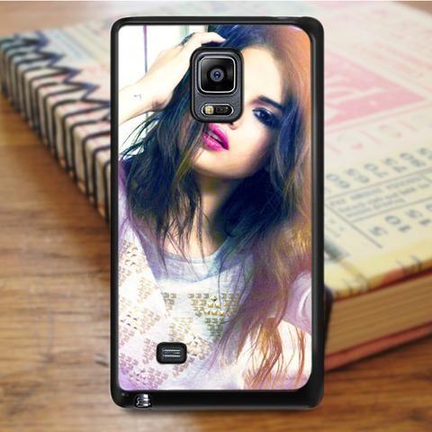 Selena Gomez Long Hair Samsung Galaxy Note 4 Case