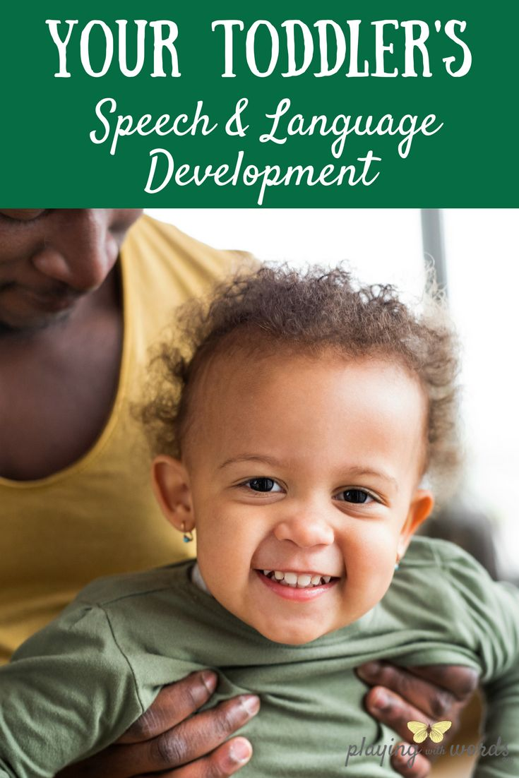 Toddler's Speech & Language Development: What to Expect (from Playing With Words 365)