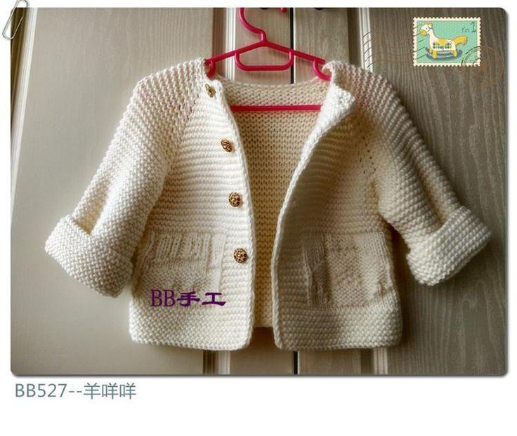 örgü çocuk ceketi