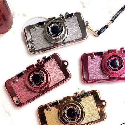 ラメカメラ型ミラー付の便利iphoneケース6/6s/6plus/6splus