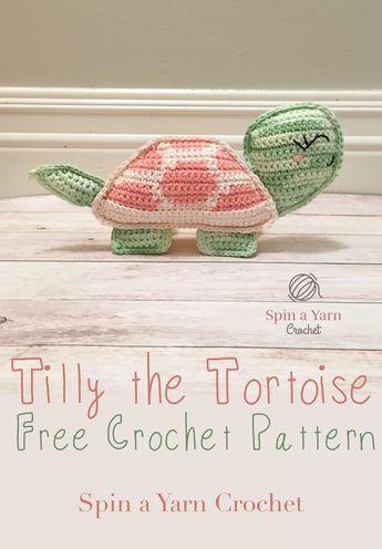 Tilly The Tortoise Spin A Yarn Crochet Ragdoll Free Pattern