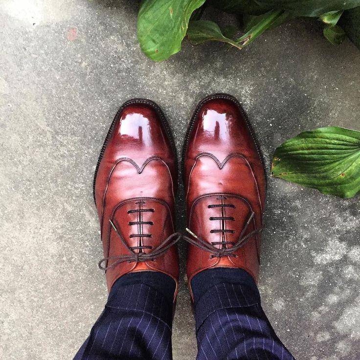 Scotch Grain 寒いですそろそろ羽織るものがいりますね #scotchgrain #shoes #スコッチグレイン #紳士靴 #革靴 #shoeoftheday