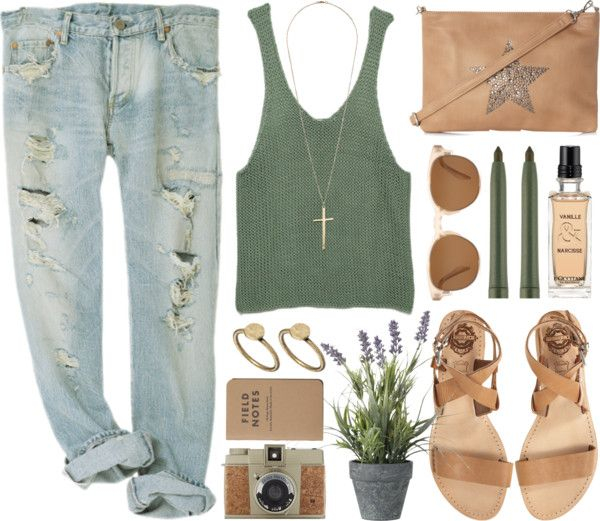 Boyfriend jeans outfit! Want! I especially think the houseplant adds to this outfit.