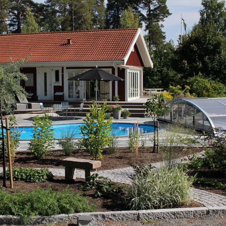 En skön oas i trädgården!