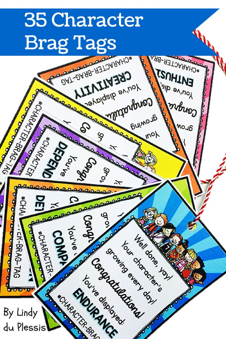 best ideas about good character positive brag tags character education brags tags are prefect for motivating students to improve their behavior here are 35 brag tags to reward good character