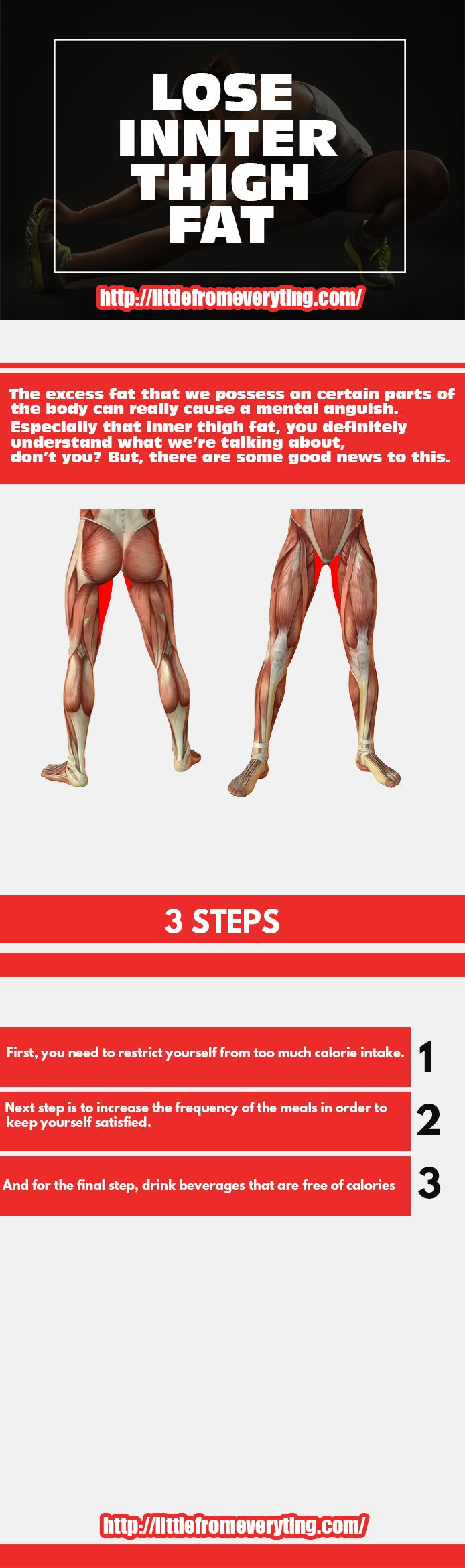 Lose inner thigh fat!!