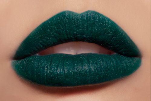 Dark Teal Lipstick