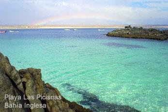 Playa La Virgen, Bahia Inglesa