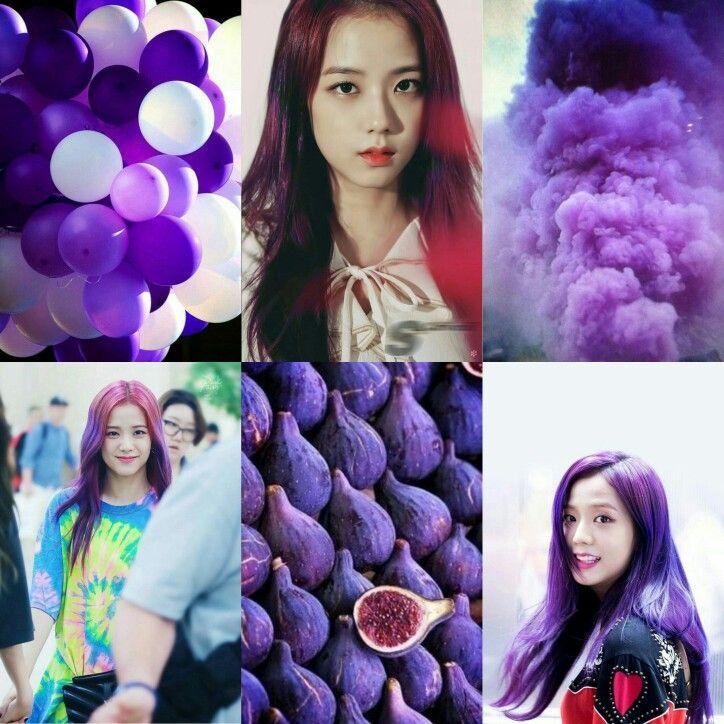 Jisoo Purple Moodboard
