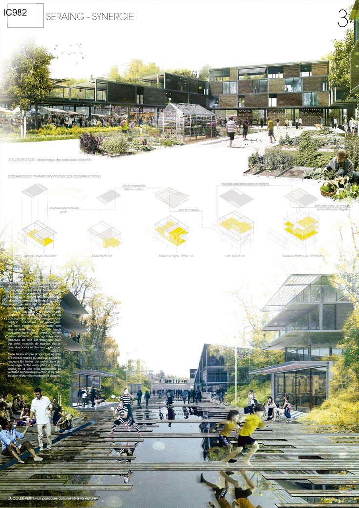 Results of the Europan 12 Architecture Competition - Seraing - Synergie