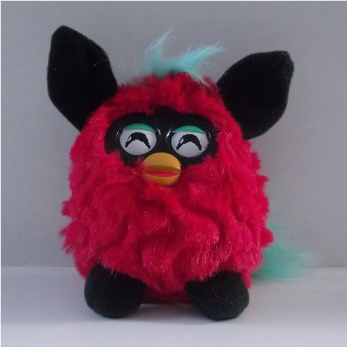 Plush Furby Red : McDonalds Happy Meal Toy | Kameron's ...