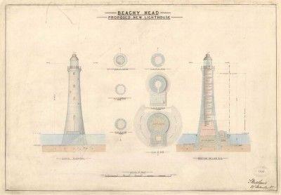 Lighthouse prints | Trinity House, Beachy Head