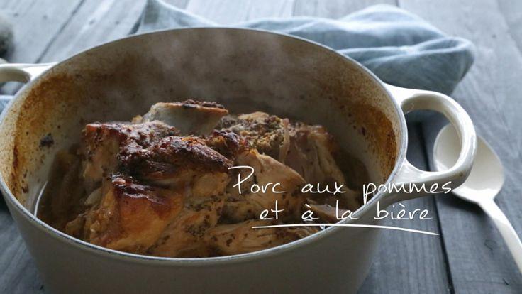 Porc aux pommes et à la bière | Cuisine futée, parents pressés