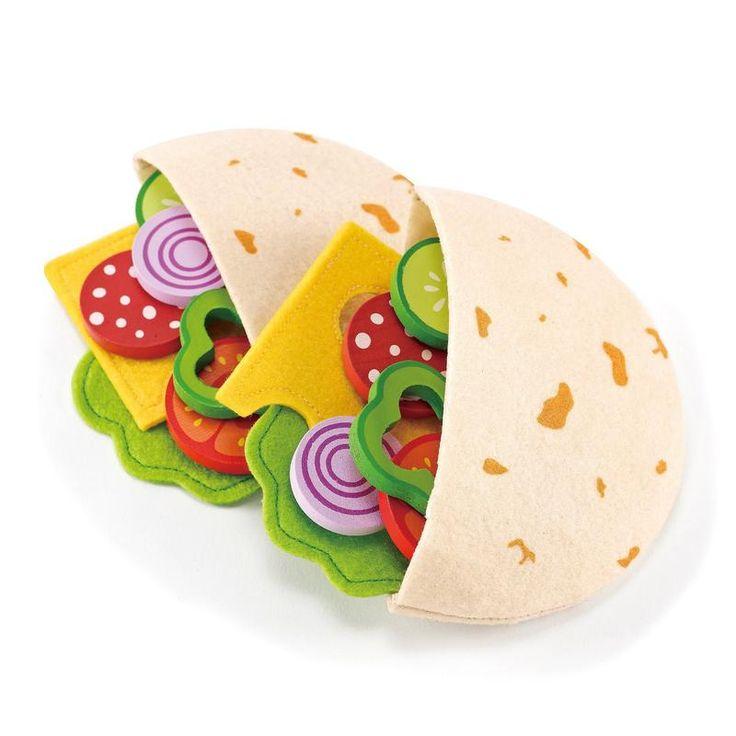 Hape Kinderküche Zubehör Pita-Taschen Set