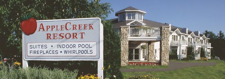 Door County Lodging hotel Fish Creek WI. Shops By Peninsula State Park, Bike, Hike, Golf, Beaches Lighthouse, Winery, Door County Trolley Tours.