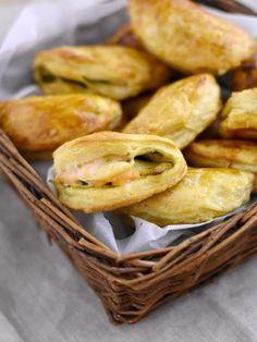 Chausson courgette et saumon frais - Recette de cuisine Marmiton : une recette