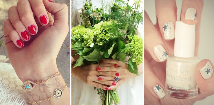 Unghie sposa: nail art e french per una perfetta manicure per il matrimonio : Album di foto - alfemminile