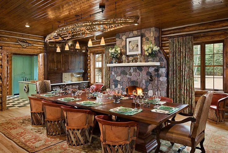 Best 25+ Log Home Kitchens Ideas On Pinterest