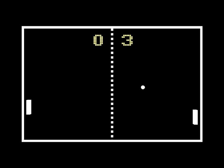 The highlight of going to Pizza Hut was getting to play Pong.
