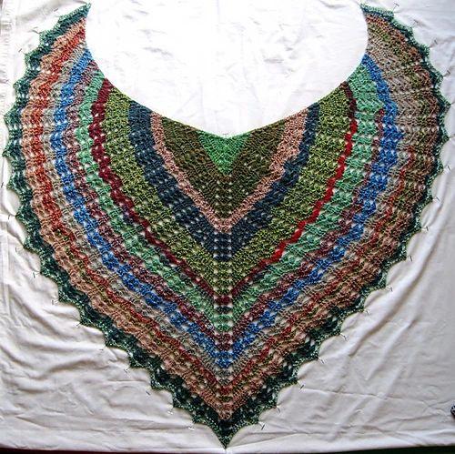 Seraphina's Shawl pattern by Doni's Stuff