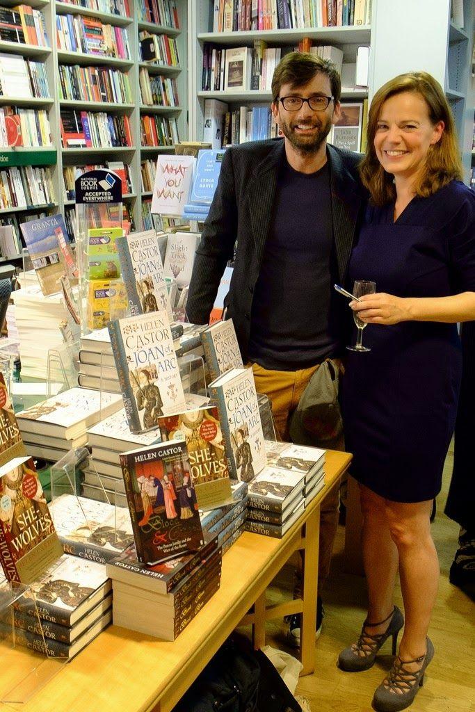 PHOTO: David Tennant Attends Helen Castor's Book Launch