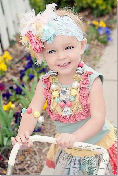 flower headbands by cozette couture
