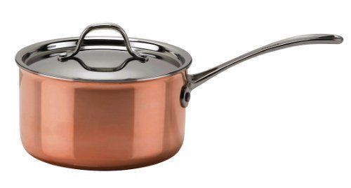Le Cuivre Copper Try-Ply 2 Quart Saucepan with Lid - Mirror Finish by Josef Strauss. $140.00. Compatible with most cooking surfaces, oven safe. 100 % safe cooking. Should be cleaned with warm soapy water or Josef strauss Stainless steel & Copper cleaner. 3-Ply Cookware with aluminum core that extends to the rim, Stainless steel interior and Copper exterior. The beauty and performance of copper. The Josef Strauss Le Cuivre collection combines the beauty of copper and the u...
