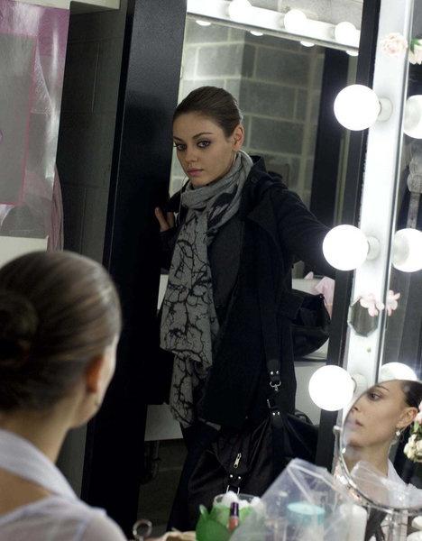 Natalie Portman and Mila Kunis in Black Swan