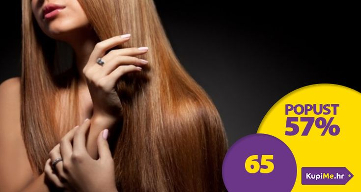 Meka, sjajna i ravna kosa uz njegu kose sa pro keratinskim L'oreal proizvodima (šampon, krema i serum) i ravnanje kose sa Steampod peglom za kosu na paru!