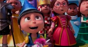 Agnes Cute in Her Birthday Despicable Me 2