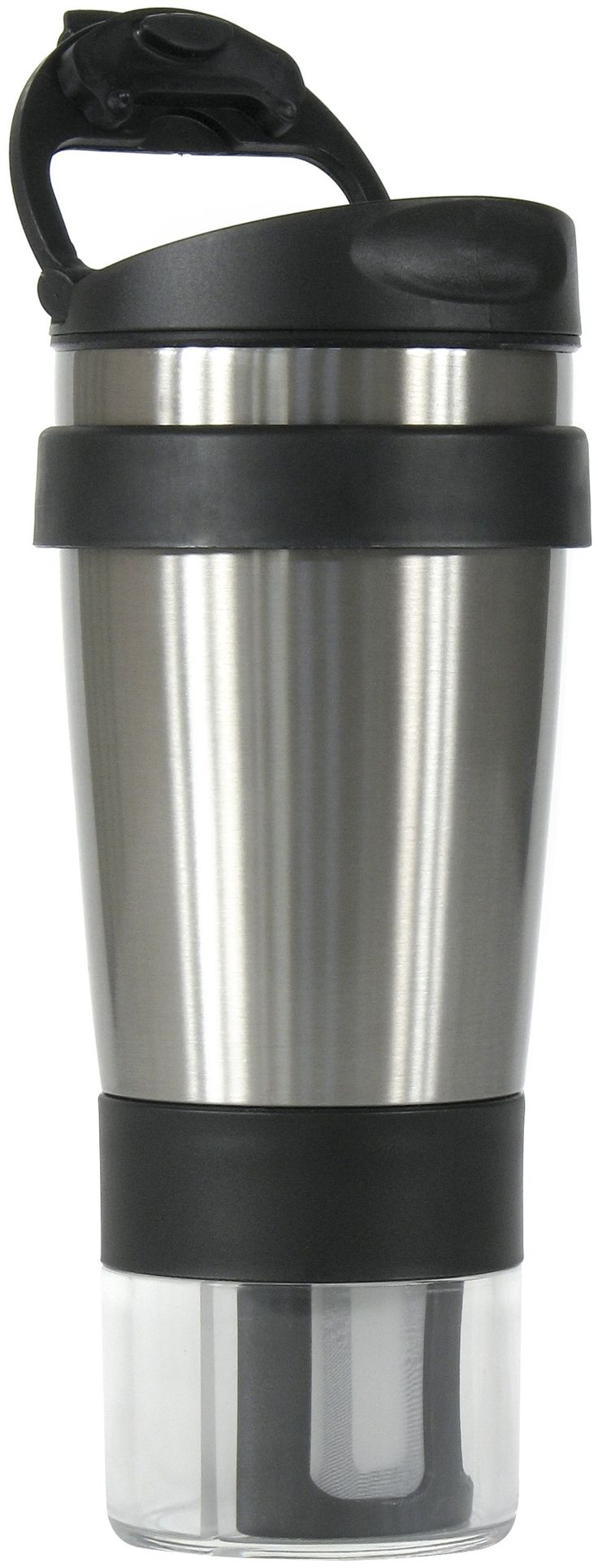 tea infuser travel mug how to use