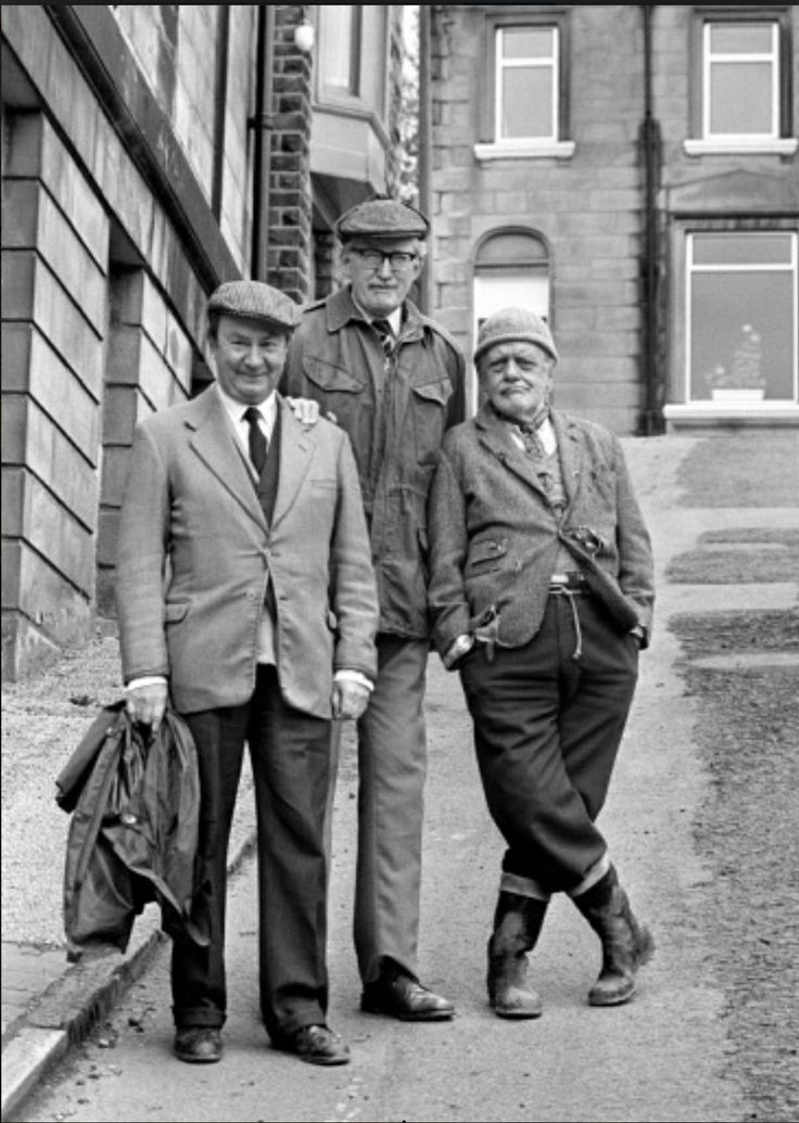 "Last of the Summer Wine (BBC) ""Clegg Froggy and Compo"" ( Peter Sallis, Brian Wilde and Bill Owen)"
