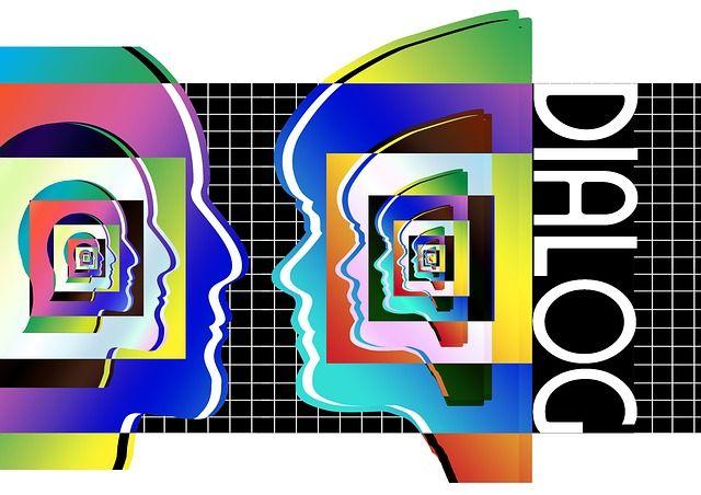 Faces, Man, Woman, Dialogue, Talk, Communication
