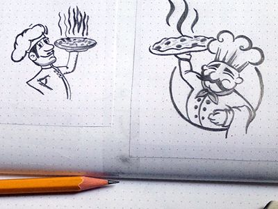 Pizza logo  by Jack's Design