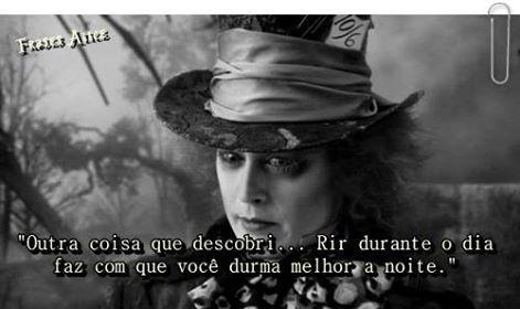 Foto de Frases: Alice no País das Maravilhas.