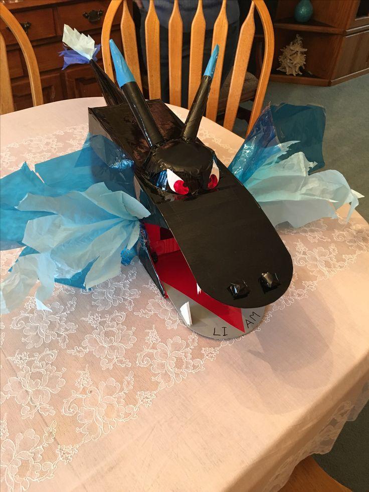Charizard Pokémon Valentine box