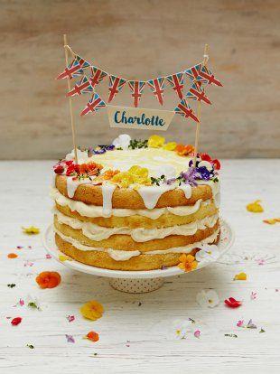 Royal Charlotte lemon drizzle cake | Jamie Oliver