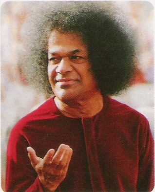 """""""Your true nature is purity, peace and joy."""" --Sathya Sai Baba"""