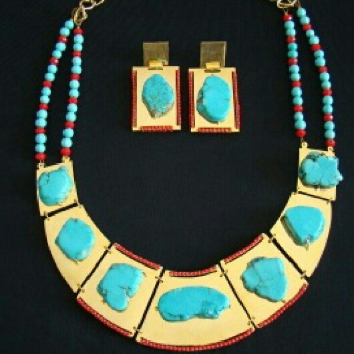 Maxi #glamour #Turquoise #gorgeus #chic #colombiandesign
