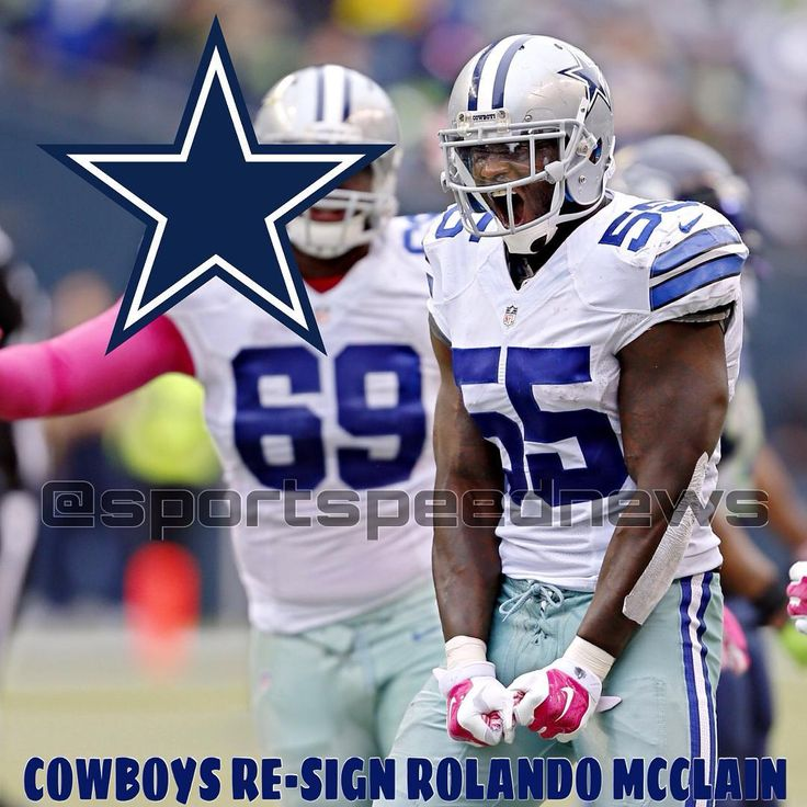 The Dallas Cowboys have re-signed Rolando McClain (LB) to a deal. #rolandomcclain #mcclain #dallascowboys #dallas #cowboys #nflnews #nfl #news #nflfreeagency #freeagency #trades #sports #sportsnews #football #footballnews #2016