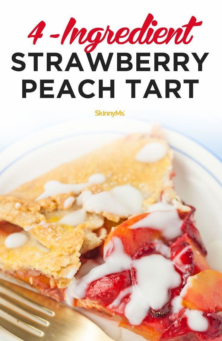 4-Ingredient Strawberry Peach Tart forecast