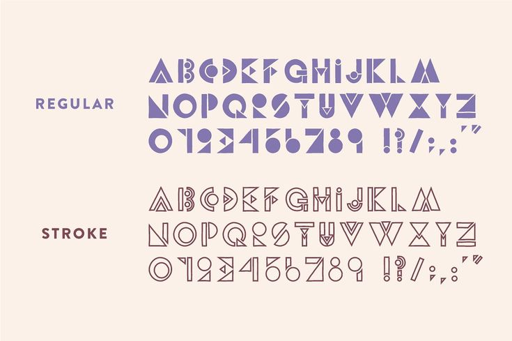 Party Down - Geometric Font by Jordan Dale Young on @creativemarket