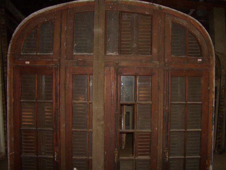 23 best ventanas de madera usadas images on pinterest - Puertas usadas de madera ...