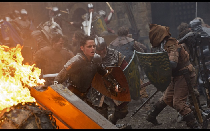 I want to see this movie!  Snow White & The Huntsman Own it 9/11 on Blu-ray Combo Pack & DVD!