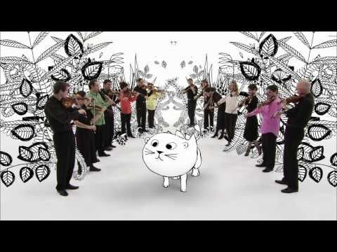 Carnival of the Animals: The Lion  / cute cartoon with live orchestra interaction http://yt.cl.nr/8y-KBlDFZOo